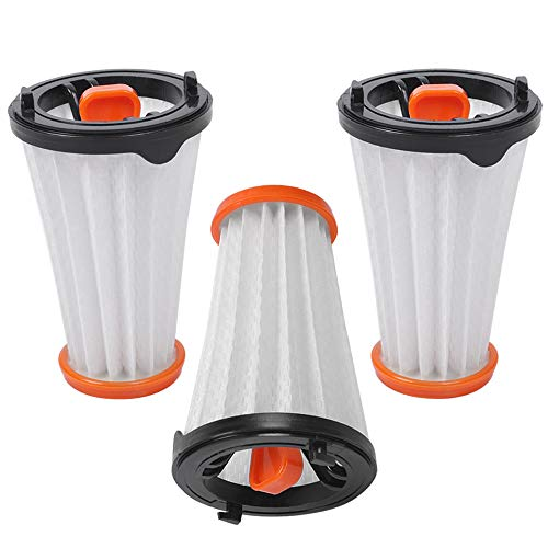 KEEPOW 3 filtros de repuesto para aspiradoras AEG / Electrolux Rapido y Ergorapido. Alternativa a AEG AEF 144 / Electrolux EF144