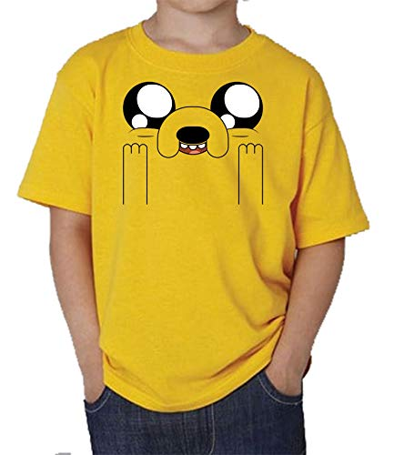 The Fan Tee Camiseta de NIÑOS Hora de Aventuras Jake Finn 010 3-4 años
