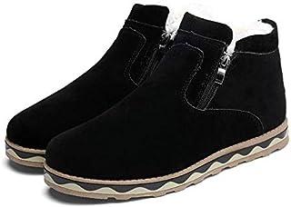 [イイノ] スノーブーツ サイドジップショートブーツ メンズ 裏起毛 秋冬 綿靴 雪用ブーツ防寒 防滑
