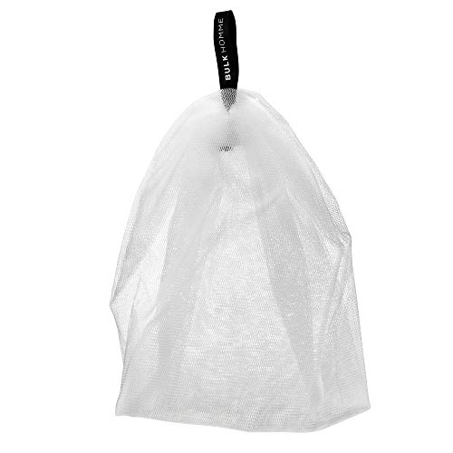 BULK HOMME - THE BUBBLE NET | Foam Enhancing Net For Use With THE FACE WASH | Men's Face Care Bubble Foam Net | Mesh Soap Pouch For Creating Dense Foaming Face Wash Lather | Men's Skin Care Products