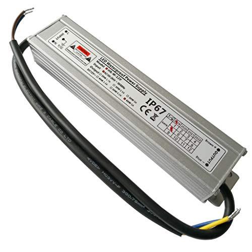 YAYZA! 1-Paquete Controlador de LED Compacto Ultra-Fino A Prueba de Agua IP67...