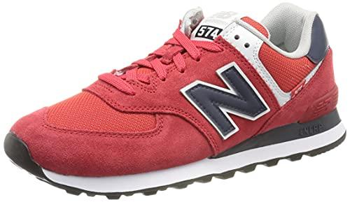 New Balance ML574SP2_41,5, Sneakers Uomo, Rosso, 41.5 EU