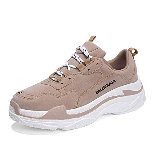 IDE Play Le Sport Unisexe Hommes Occasionnels Chaussures de Course à Pied Chaussures de Tennis Chaussures Espadrilles Mode Hommes de Course, Chaussures de Sport de Fitness légers,N,38