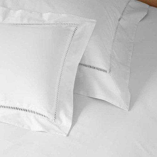 Linens Limited - Kissenbezug m. Stehsaum - Ägypt. Baumwolle Fadenzahl 1000 Weiß