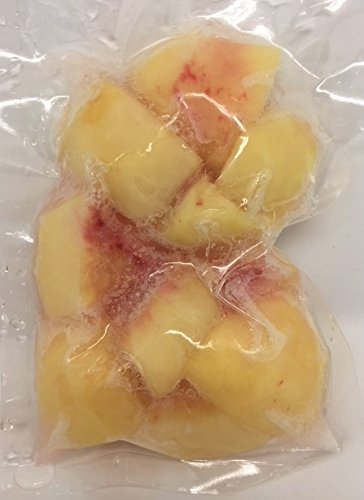 国産冷凍桃(岡山、和歌山、山梨産など) 250g 【消費税込み】国産 完熟桃 をカットしています。