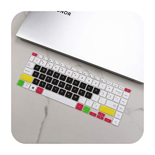 for Asus VivoBook 14 X413FP X413FA X413F X413 FA FP F S14 X421FA X421IA X421 FA IA 2020 14' Silicone Keyboard Cover Protector-candyblack