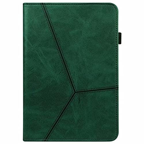 Ufgoszvp Funda para Samsung Galaxy Tab A 8.0 (2019) T290/T295/T297 – [Protección de esquina] Funda de piel vegana premium con función atril para despertar/dormir de color verde