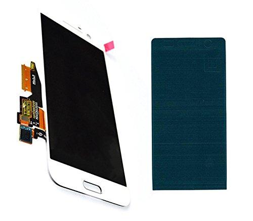 Handyteile24 ✅ HTC One 10 M10 LCD Bildschirm Anzeige Display Digitizer Touch Touchscreen Glas Weiß mit Klebestreifen