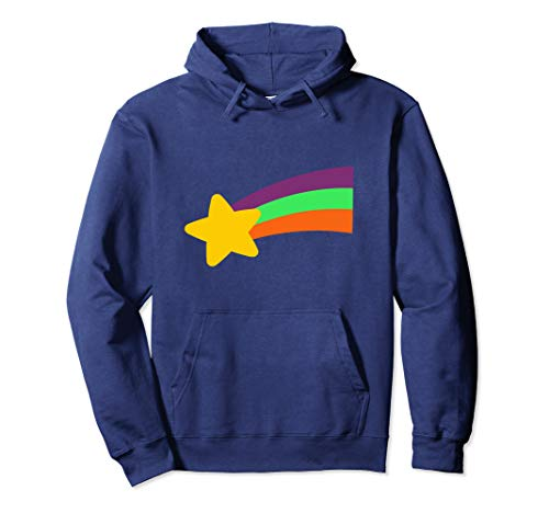 Mabel Shooting Star Rainbow Gravity Shack Mystery Falls Pullover Hoodie