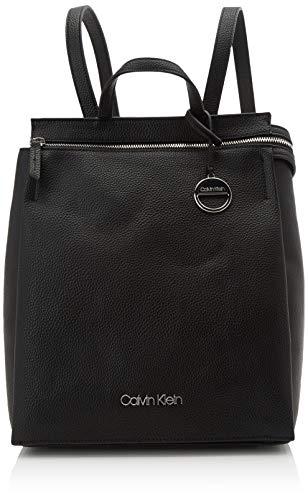 Calvin Klein Damen Sided Backpack Rucksack, Schwarz (Black), 1x1x1 cm