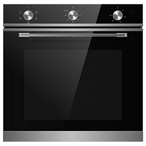 Cookology TOF600SS Multi Function, Dial Control, Built-in Oven, 72L