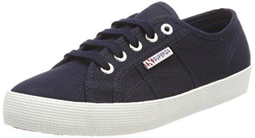 SUPERGA 2750-COTBUMPJ, Sneaker Unisex Bambini, Blu (Navy/Fwhite F43), 22 EU