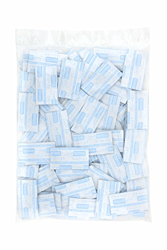 Smoothglide Transparente Kondome Gefühlsecht 100er Pack 54mm breit