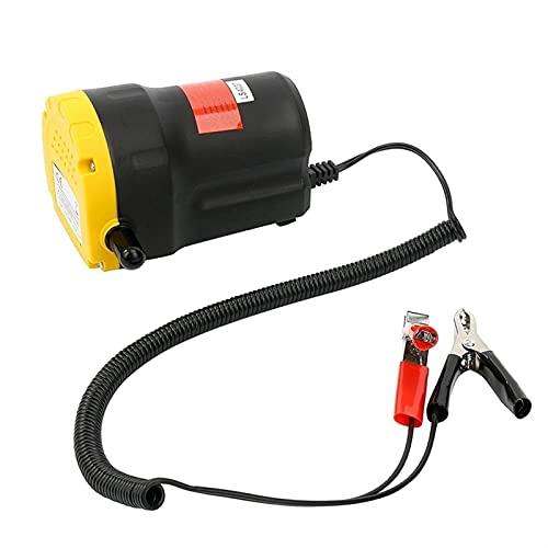 ZHENGZEQU 12V Professional Bomba de Aceite eléctrico SCAVENGE Cambio de Transferencia de succión Cambio de la Bomba Aceite DE Motor Diesel Extractor