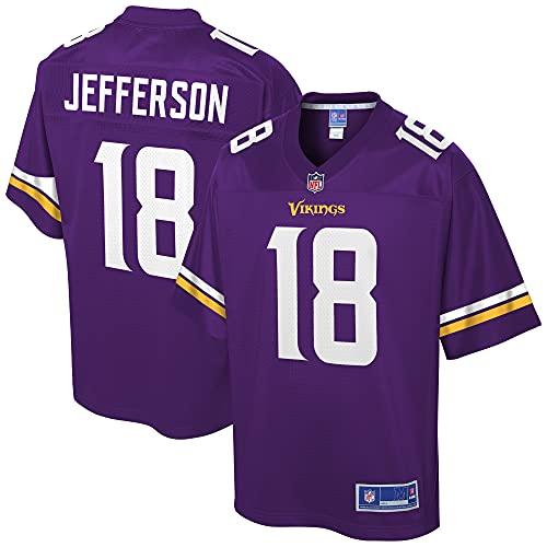 NFL PRO LINE Men's Justin Jefferson Purple Minnesota Vikings Team Player Jersey