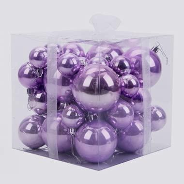 Bolas de Navidad 37pcs del árbol de navidad chuchería bola colgante de...
