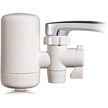 Filtro purificador de agua para grifo. Filtro cerámico - filtrado de 2 fases Delite Mod.DE-OT3: Amazon.es: Hogar