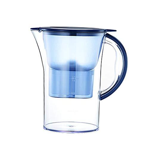 H HILABEE Jarra de Filtro de Agua 2.8L El Agua Reduce Los Sedimentos de Cloro Jarra de Cocina Doméstica