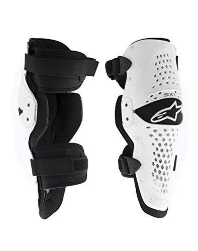 Alpinestars Men's SX-1 Knee Guard (White/Black,...