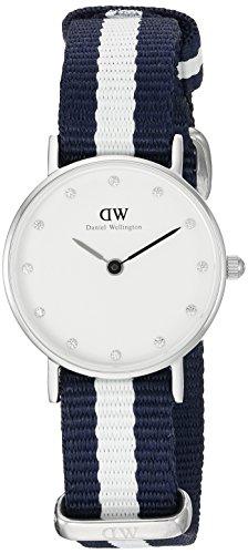 Daniel Wellington Classy Glasgow 0928DW - Orologio da polso, donna, nylon, colore: multicolore