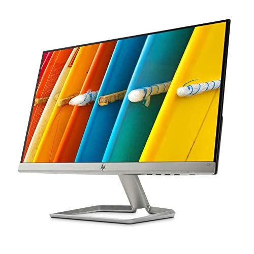 HP 22f Monitor da 22 Pollici, IPS FHD 1920 x 1080, 5 ms, Amd FreeSync, Inclinabile