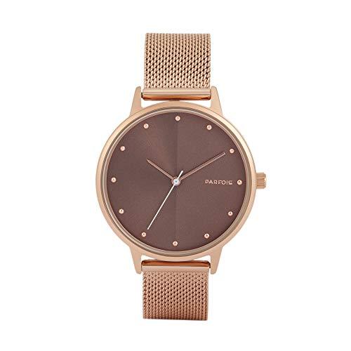 Parfois - Reloj Casual Rose Gold Tray - Mujeres - Tallas Única - Dorado