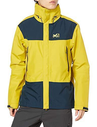Millet - Grands Montets GTX JKT M - Hardshell-Jacke für Herren - Wasserdichte Gore-Tex-Membran - Bergsteigen, Wandern, Trekking, Lifestyle - Anisgrün/Blau