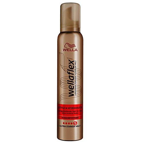 Wellaflex Style & Hitzeschutz Schaumfestiger 200ml