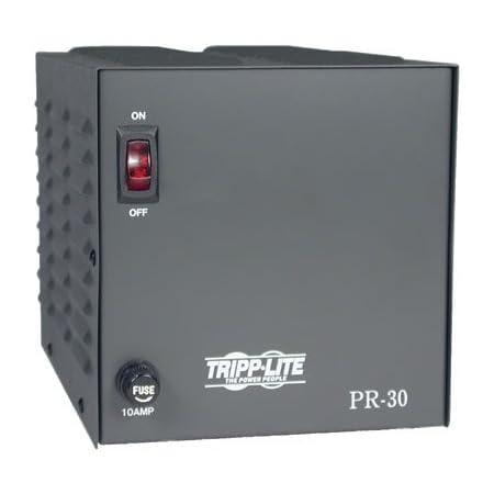 Tripp Lite PR30 30-Amp DC Power Supply 120VAC Input to 13.8VDC Output