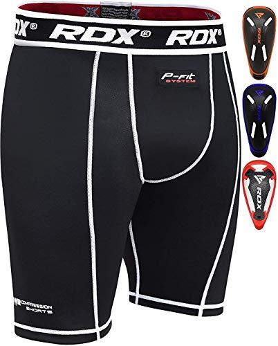 RDX Compressione Pantaloncini Thai Boxe Sudore MMA Termici Compression Shorts Boxer Uomo Base Layer