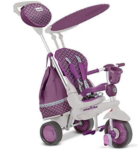 smarTrike 680-0400 Splash Dreirad Kinderdreirad, lila-weiß