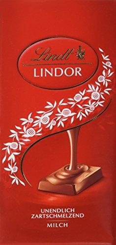 Lindt & Sprüngli Lindor Tafel Milch, 6er Pack (6 x 100 g)
