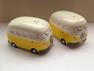 Camper Van Salt and Pepper Pots - Yellow (MLSP-VWV-YEL)