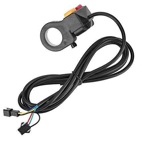 Interruptor de luz de bocina y interruptor de señal de giro 2 en 1 para motocicleta E-Bike Scooter Bike Switch