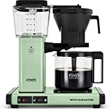 Moccamaster 53925 KBGV Select 10-Cup Coffee Maker, Pistachio Green, 40 ounce, 10-Cup, 1.25L