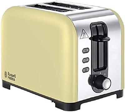 Russell Hobbs 23533 Henley 2 Slice Toaster-Cream