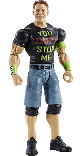 Mattel WWE Top Picks John Cena Action Figure 6 in Posable Collectible and Gift for Ages 6 Years Old and Up