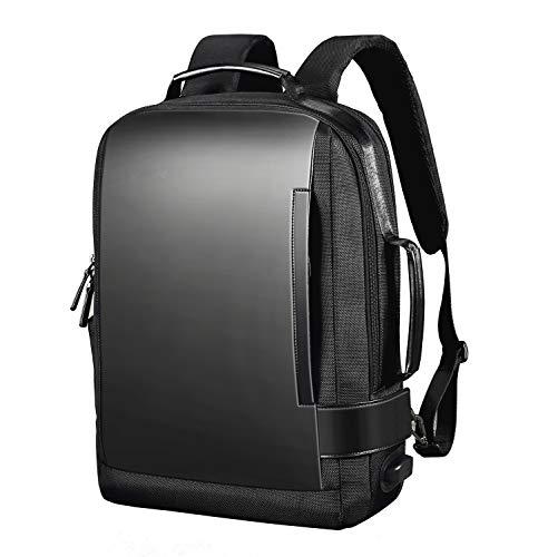 ZenCT リュックサック ビジネスリュック 3way パソコンバッグ マチ拡張機能 カバン メンズ レディース 盗難防止ラップトップ バックパック 防水 USB充電ポート搭載 男女兼用 ブラック CT055