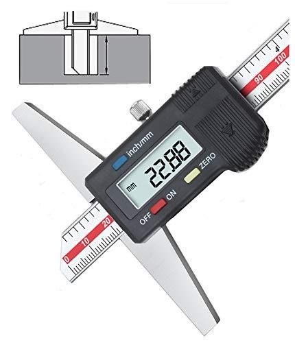 GLTL Depth Gage General Tools Depth gauge Vernier caliper,0-6
