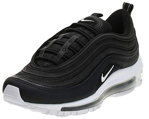 Nike Men's Air Max 97 Running Shoes, Black (Black/White 001), 11 UK