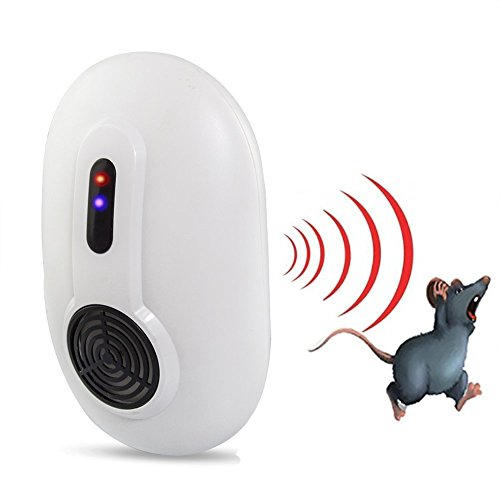 Vensmile 3 Wave Indoor Home Pest Control Repeller Against Mouse, Rat, Rodent and Insects
