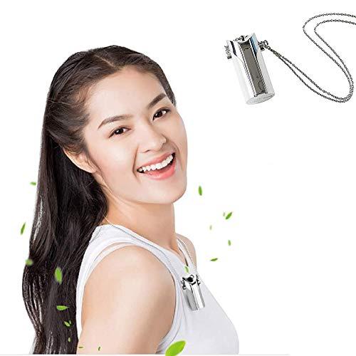 Boom Portable Mini Purificateur d'air, Wearable Collier D'ions Négatifs Générateur USB...