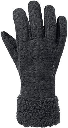VAUDE Damen Tinshan Handschuhe IV, Phantom Black, 7
