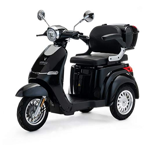 VELECO 3 Wheeled Electric Mobility Scooter 1000W
