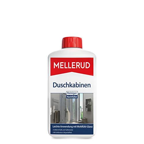 Mellerud Duschkabinen Reiniger Nachfüller – Wirksames Mittel gegen Kalk- & Seifenreste in der Dusche – 1 x 1 l