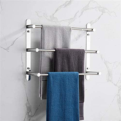 Hand Towel Bar Bathroom Large special price Holder Max 89% OFF Layers Towe Stagger Three