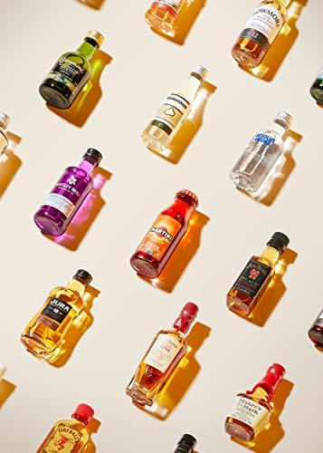 Amazon Premium Spirituosen Adventskalender 2020 - 24 Miniaturflaschen inkl. Booklet mit Verkostungsnotizen und Cocktailrezepten - 8