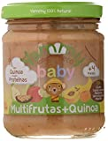 Yammy, Potito Ecológico Multifrutas y Quinoa a Partir de 4 Meses - 12 de 195 gr. (Total 2340 gr.)