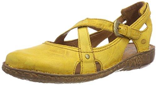 Josef Seibel Damen Rosalie 13 Geschlossene Sandalen, Gelb (Safran), 41 EU