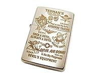 (テッドマン) TEDMAN ジッポー ライター TDZ-019 エフ商会 ZIPPO (フリーサイズ)